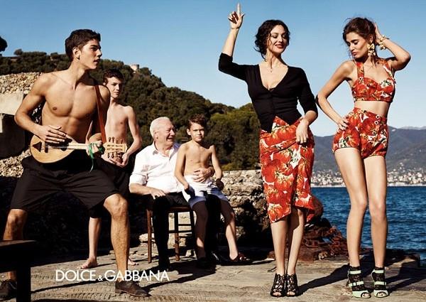 Итальянская семья Dolce & Gabbana