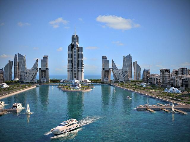 Город мечты в Азербайджане