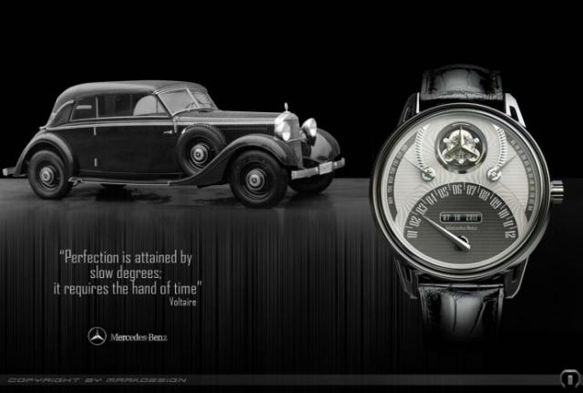 Часы в честь Новака Джоковича