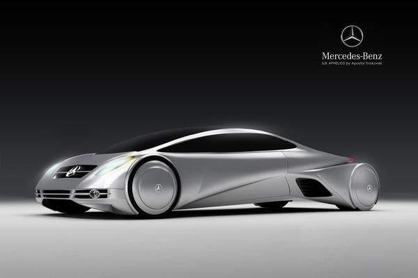 Футуристический Mercedes SLK Aphelios