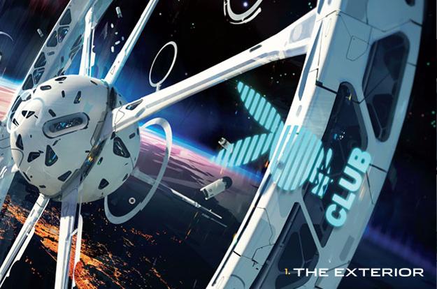 Частный клуб PlayBoy в космосе