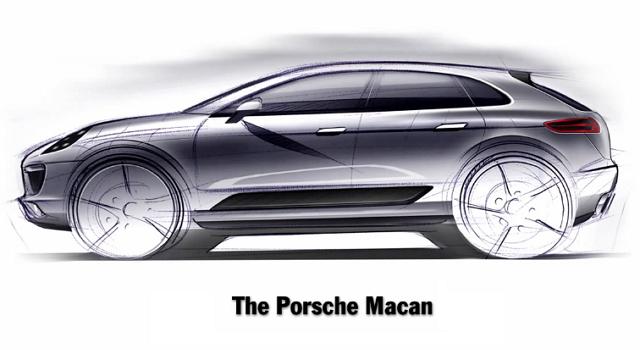 Porsche Macan - пятый SUV для городских джунглей