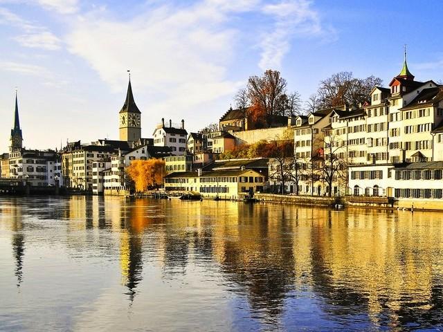 Цюрих - самый дорогой город в мире