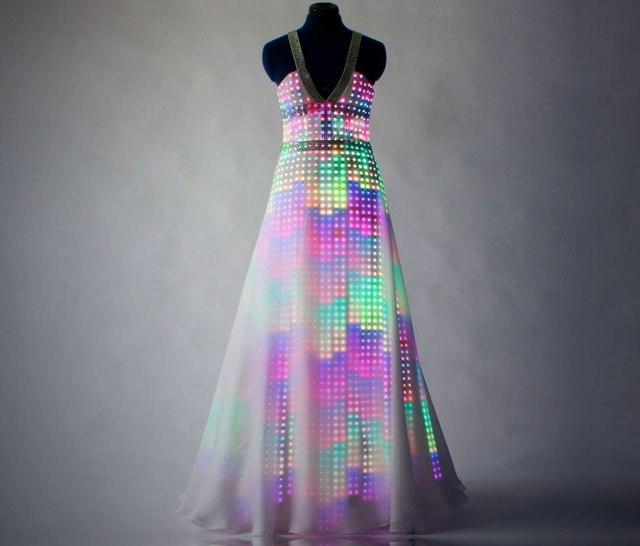 Божественное платье Аврора CuteCircuit