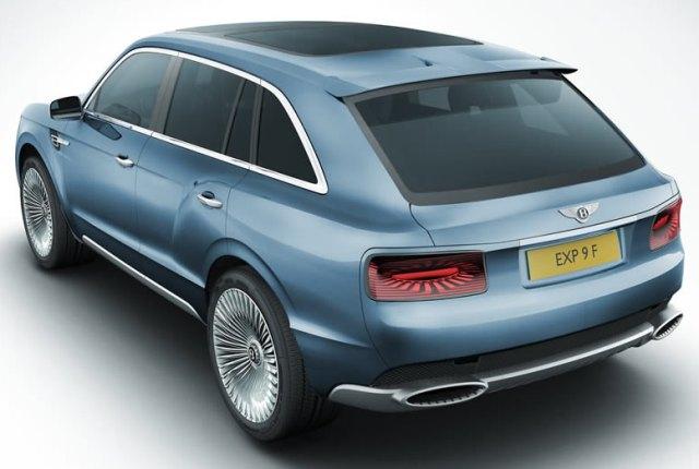 Bentley EXP 9 F - люксовый вседорожник