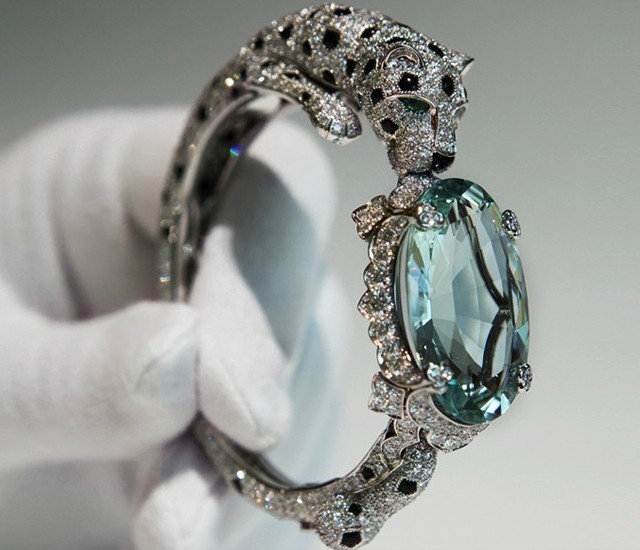 Пантерные шедевры Cartier 2012