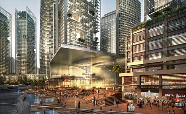 Музей современного искусства и оперный театр в Дубае
