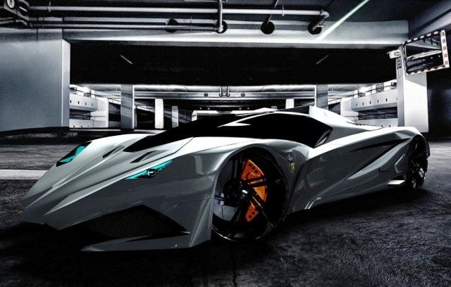 Lamborghini Ferruccio - Бешеный бык от Марка Хостлера