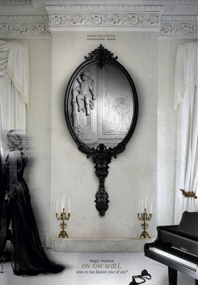 Зеркало Мария-Антуанетта от Boca do Lobo