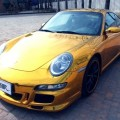 Золотой Porsche 911 Carrera 4S из Китая