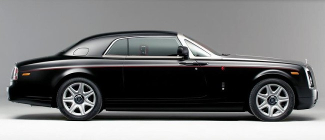 Rolls-Royce Phantom Coupe Mirage - арабский скакун
