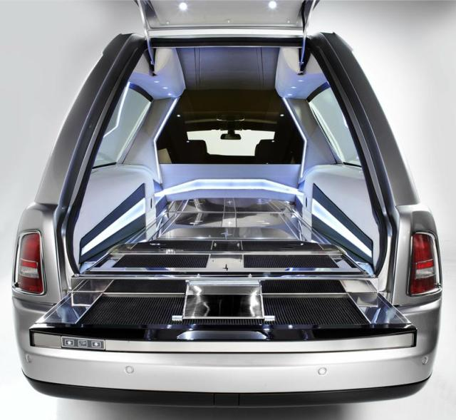 Катафалк Rolls-Royce Phantom Hearse B12