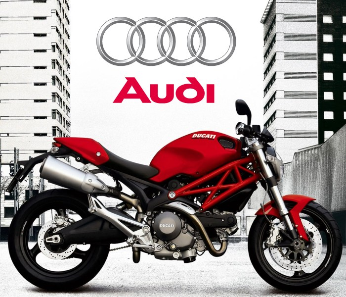 Audi купила Ducati