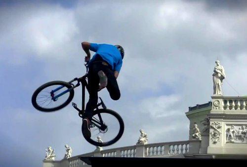 Велоэкстрим: FMB World Tour 2012 в Вене