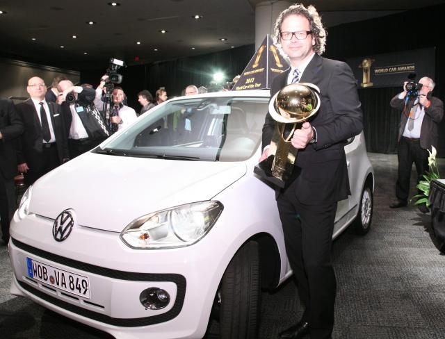 Всемирный автомобиль 2012 - Volkswagen Up!