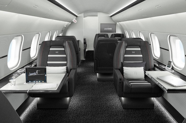 Самолеты VIP-класса от BRABUS Private Aviation