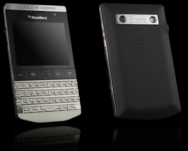 Роскошный BlackBerry Porsche Design P'9981 от Goldgenie