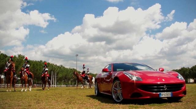Ferrari примкнула к юбилею Елизаветы II
