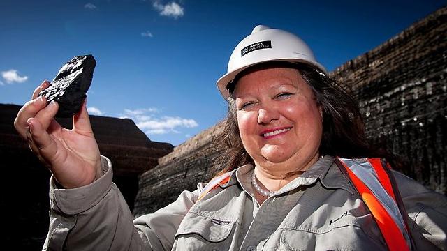 Джина Райнхарт - самая богатая женщина Земли