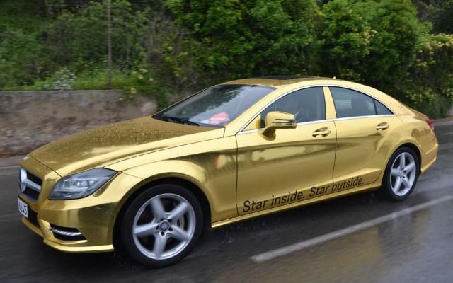 Золотые Mercedes для Канн