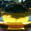 Золотой Lamborghini Gallardo из Китая