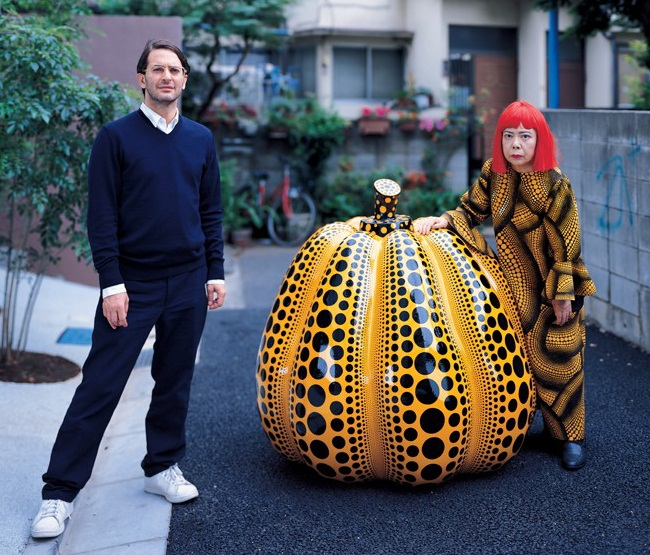 Тандем Louis Vuitton и Yayoi Kusama