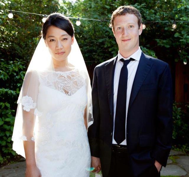 Марк Цукерберг женился на Присцилле Чен
