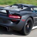 Обнародована цена Porsche 918 Spyder
