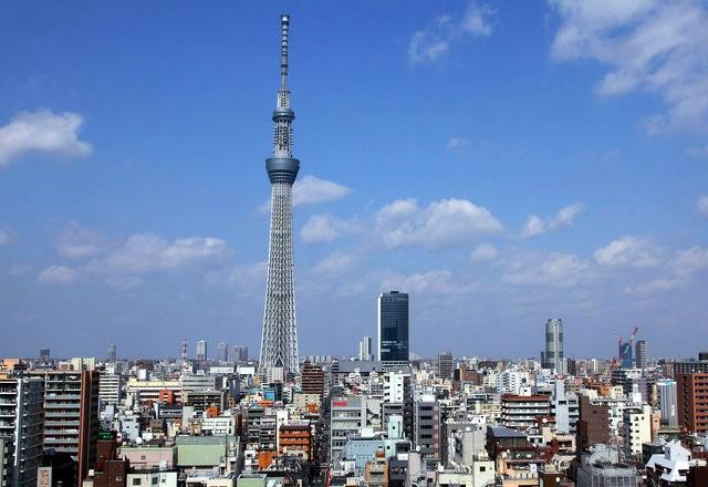Небесное дерево Токио - красиво и высоко