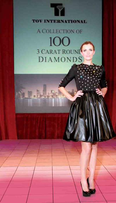 Бриллиантовое платье за $ 15 млн