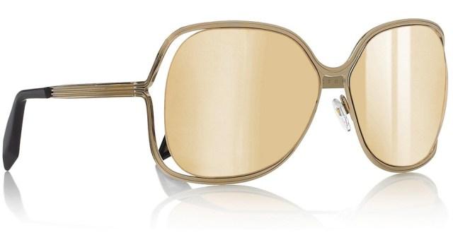 Золотые очки от Виктории Бекхэм