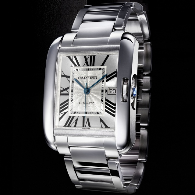 Часы Cartier Tank Anglaise - Танк никогда не остановить