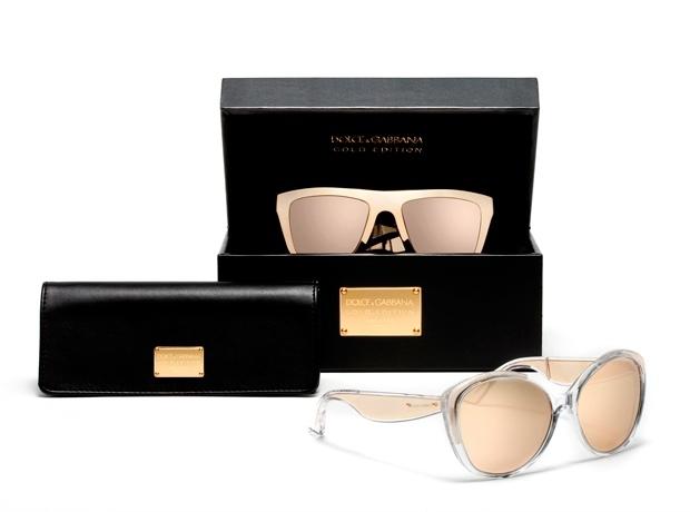 Золотые очки Dolce & Gabbana