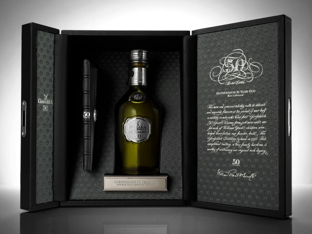 Glenfiddich 50 Years Old - виски в честь Елизаветы II