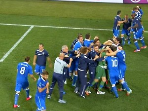Италия прошла в полуфинал Евро-2012