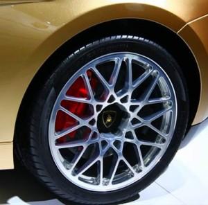 Золотой Lamborghini Gallardo LP560-4 для Китая