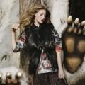 Линдси Виксон для Mulberry осень/зима 2012