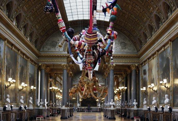 Выставка Джоаны Васконселос в Версале