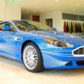 Aston Martin DB9 1M для фанов Facebook