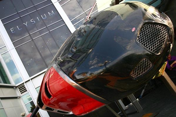 Bugatti Elysium - эйркар будущего