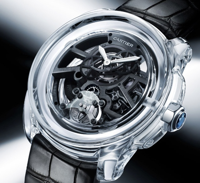 Часы Cartier ID Two - революция в механике