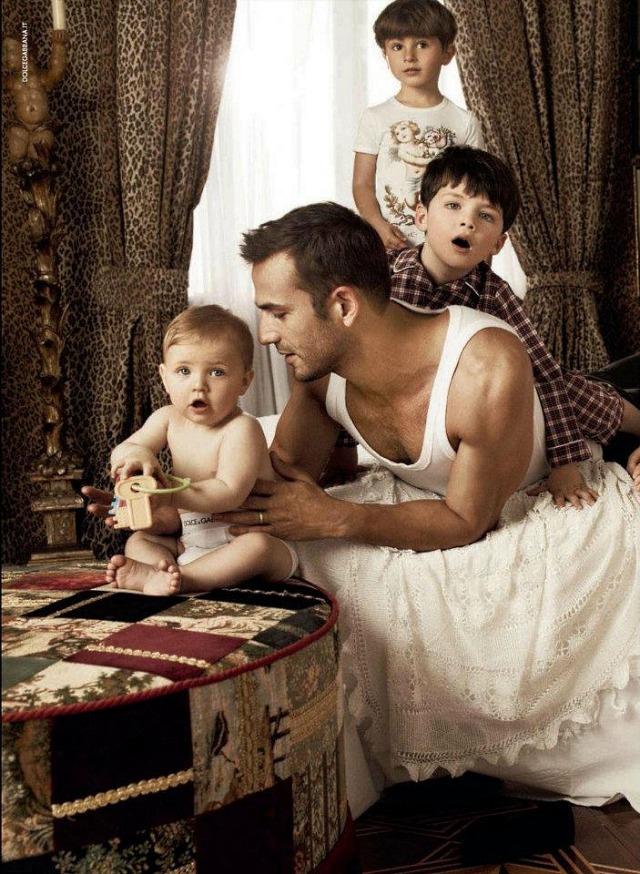Детская коллекция Dolce & Gabbana осень-зима 2012-13