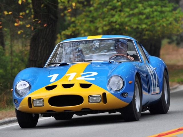 Самая дорогая авария с Ferrari 250 GTO 1962