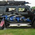 Черный Рыцарь Hummer H2 - вооружен и опасен