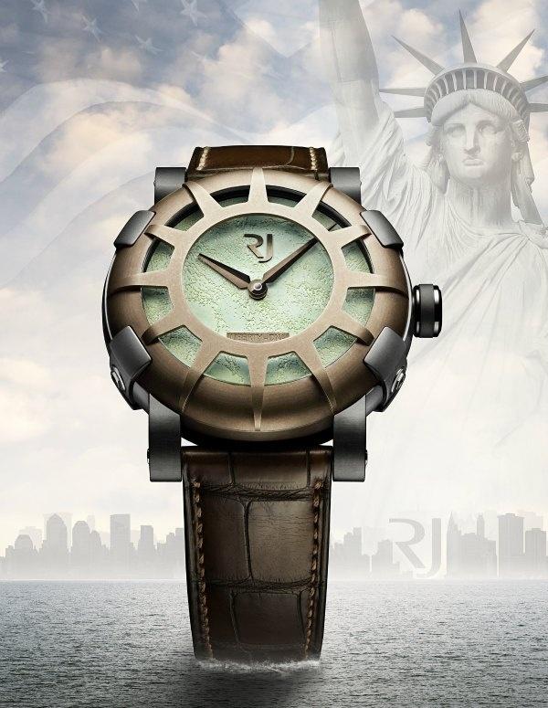 Часы Romain Jerome Liberty-DNA в честь 125-летия статуи Свободы