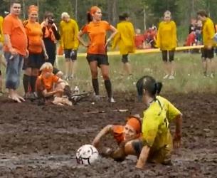 Чемпионат мира по футболу на болоте