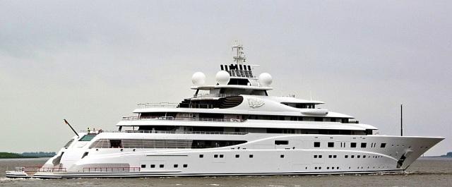 Мегаяхта Топаз и лучшие яхты в мире