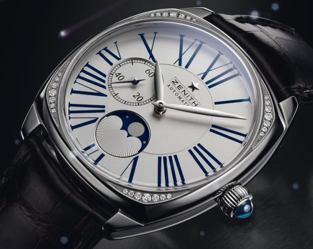 Женские часы Zenith Star Open и Star Moonphase