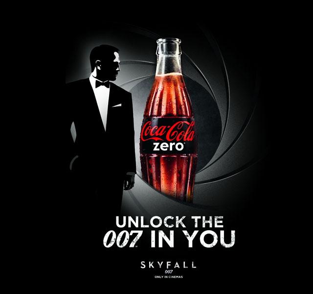 Coca-Cola Zero - открой в себе Джеймса Бонда