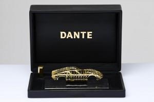Золотые скульптуры от Dante